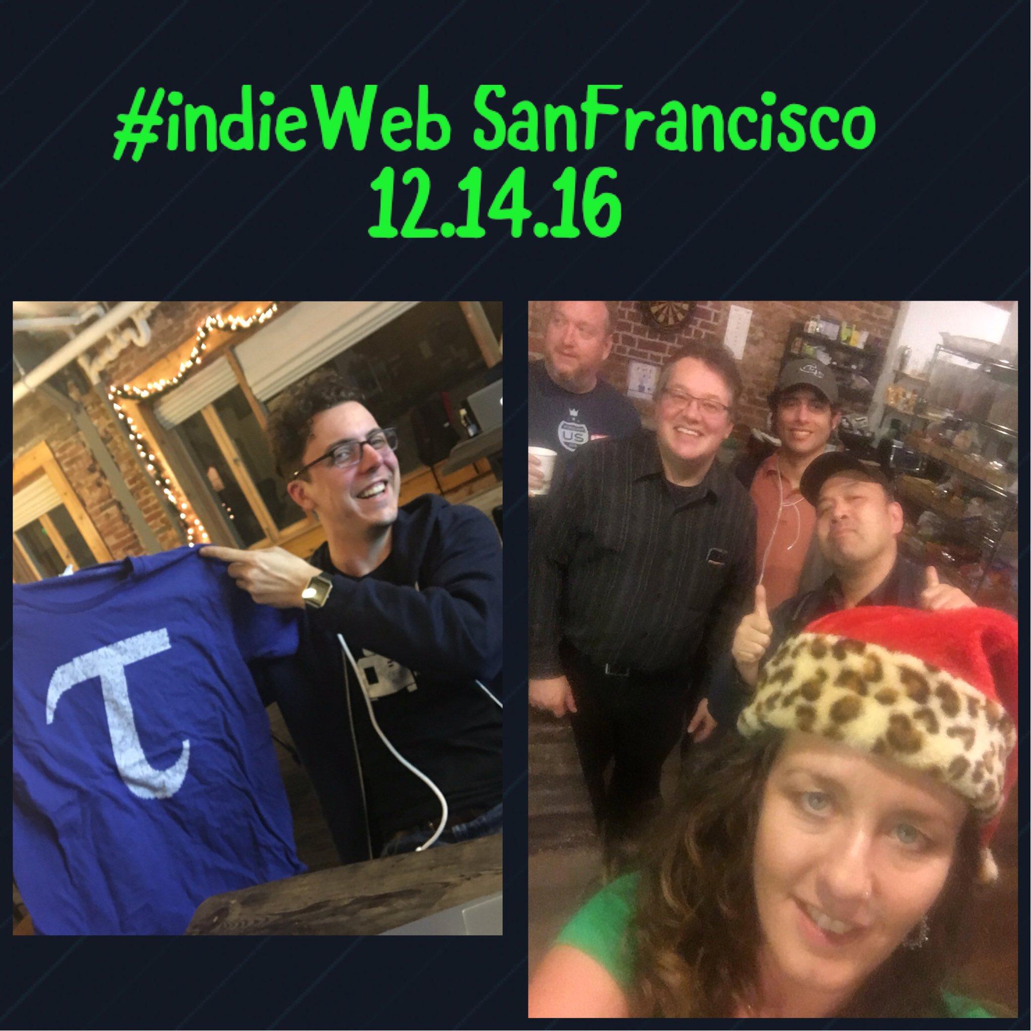 Homebrew Website Club San Francisco participants