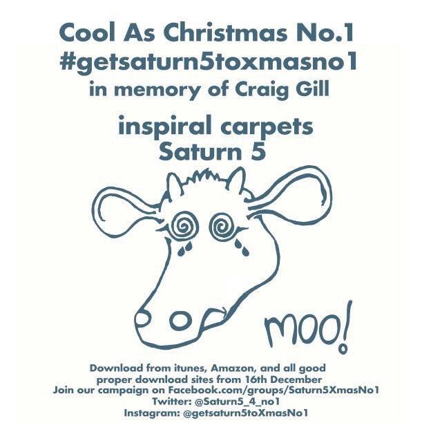 #NP @inspiralsband #Saturn5 @BBC6Music   #getsaturn5toxmasno1 in memory of @CraigGillMMT. https://t.co/1uW1PJnmtQ