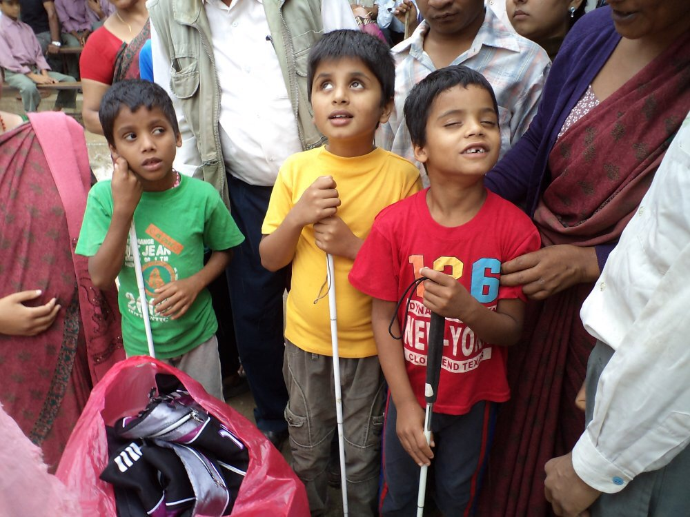 Please can you help my sister take equipment to the blind children of Nepal? https://t.co/zm3OG0IMbV https://t.co/MsrkeJpFB6