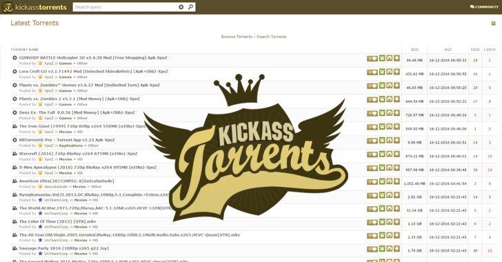 Homemade torrentssite blogg