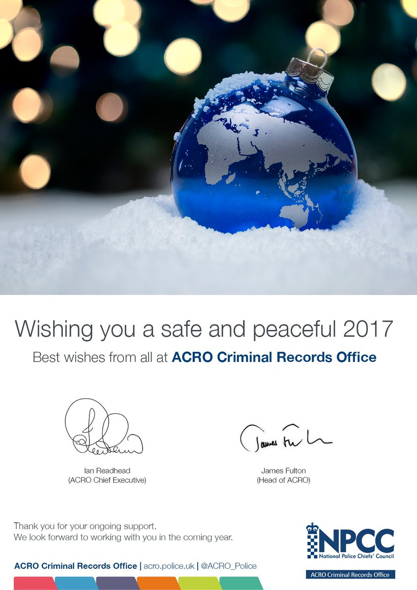 acro on twitter seasons greetings from all at acro criminal records office christmas festivefriday httpstcoo4xstsqguy