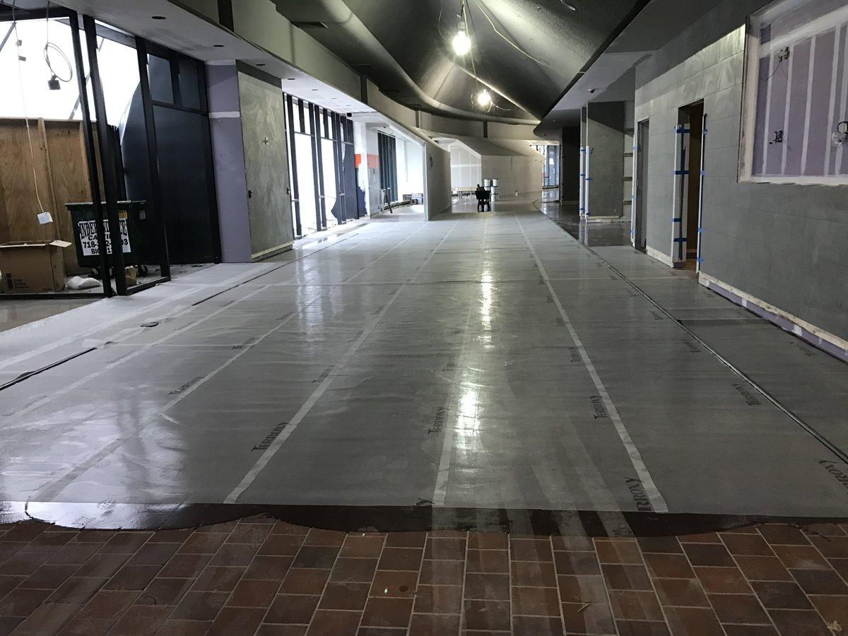 Nycb Live в Twitter Construction Photo Terrazzo Flooring