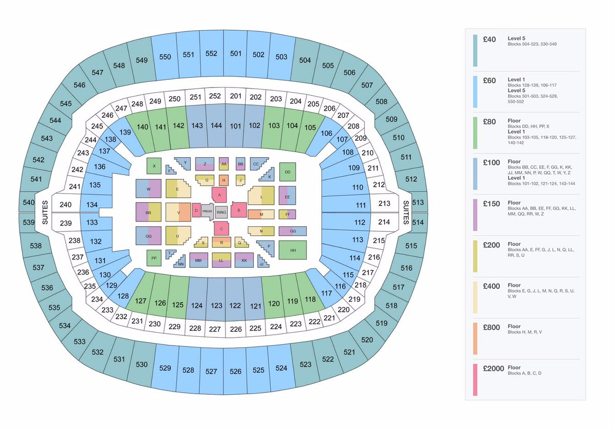 O2 London Floor Plan Wembley Stadium On Twitter Quot Here S The Seating Plan For