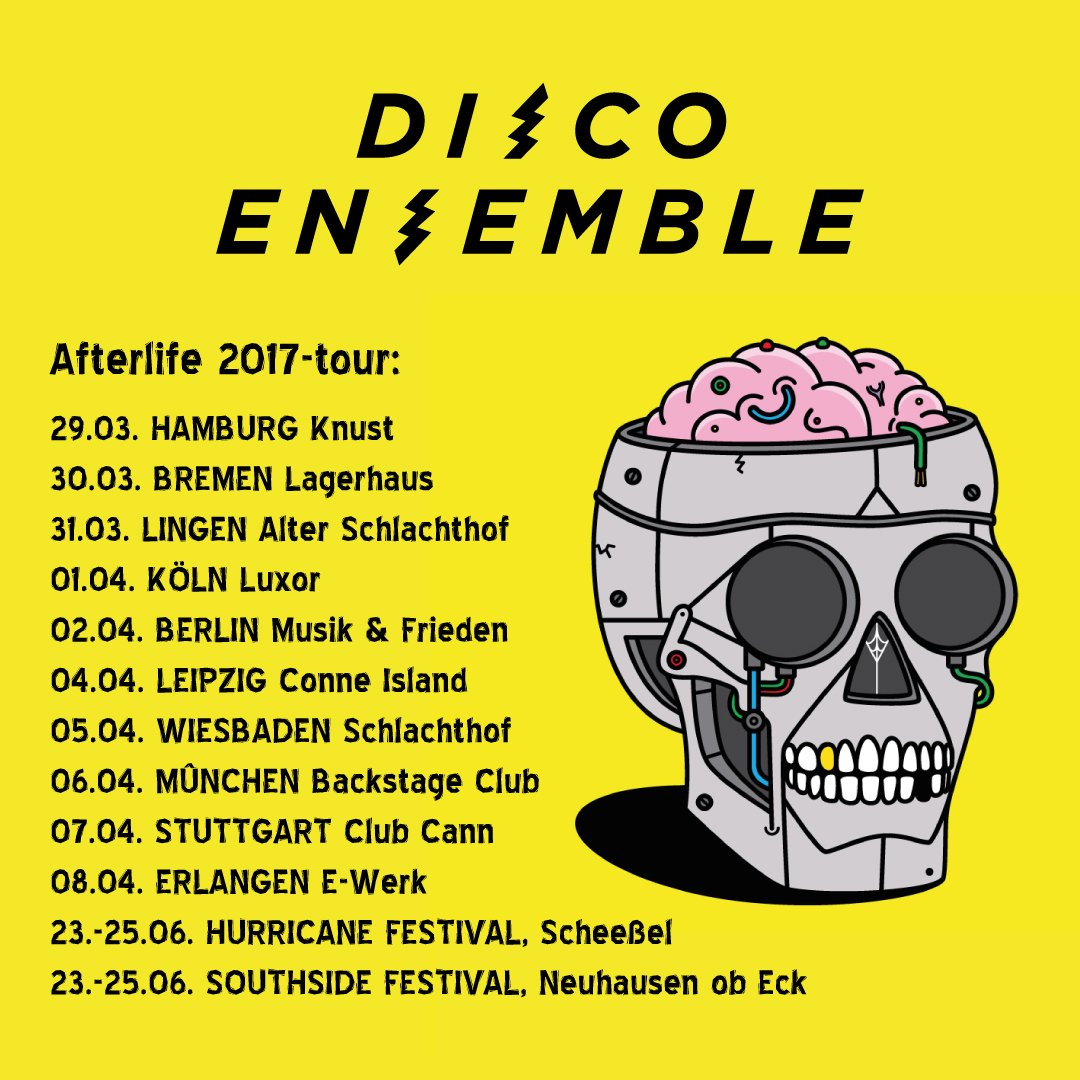 Germany! Afterlife 2017-tour has been confirmed and we will see you soon! https://t.co/CN1nZ2cFVt