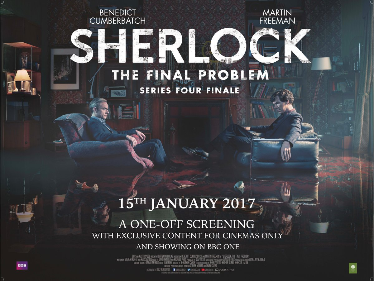Tickets are now on general sale for #Sherlock: The Final Problem on 15 January. https://t.co/V57MU96DPL https://t.co/L2S6AUsBrl