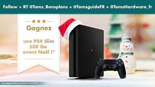 [Concours] Gagnez une PS4 Slim avant Noël ! https://t.co/7GIcaQeRI3 https://t.co/f4NUgiHxxm