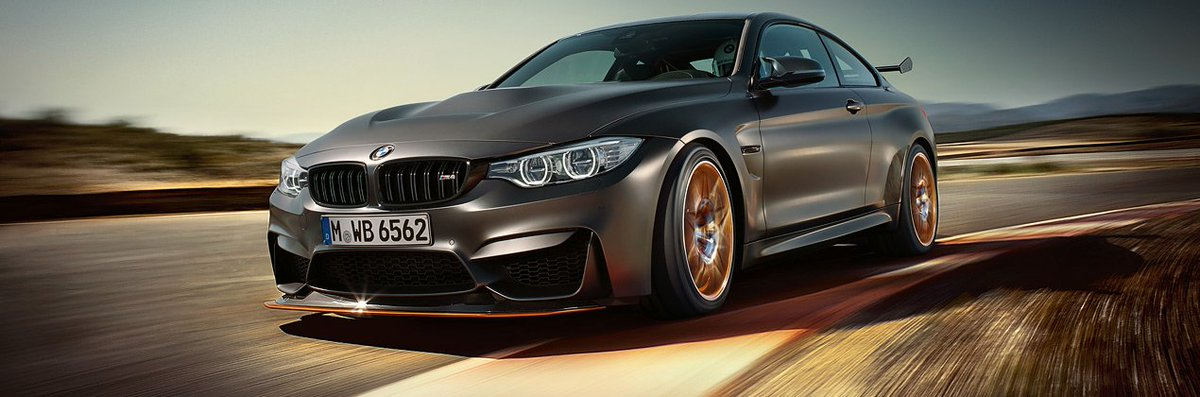 La vida es un reto maravilloso. #BMWM4 GTS https://t.co/cDeeEV6wqz