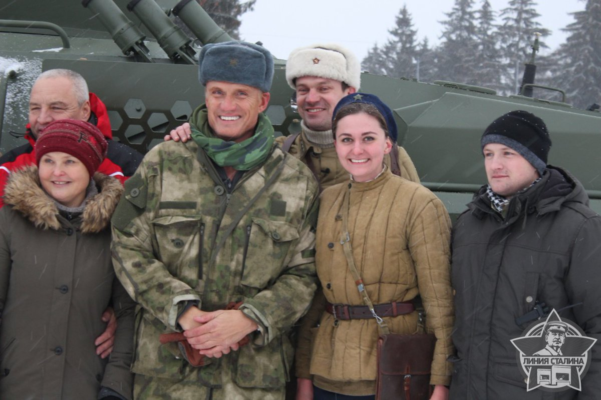 Dolph Lundgren tests new Caiman 4×4 armoured vehicle in Belarus