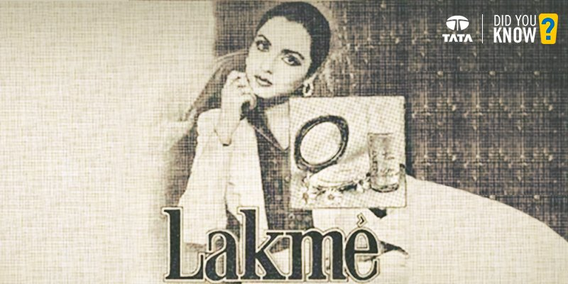 #DidYouKnow Tata group established the first Indian cosmetics company, Lakme, at Jawaharlal Nehru's request, in 1952 https://t.co/vikvRY9mko