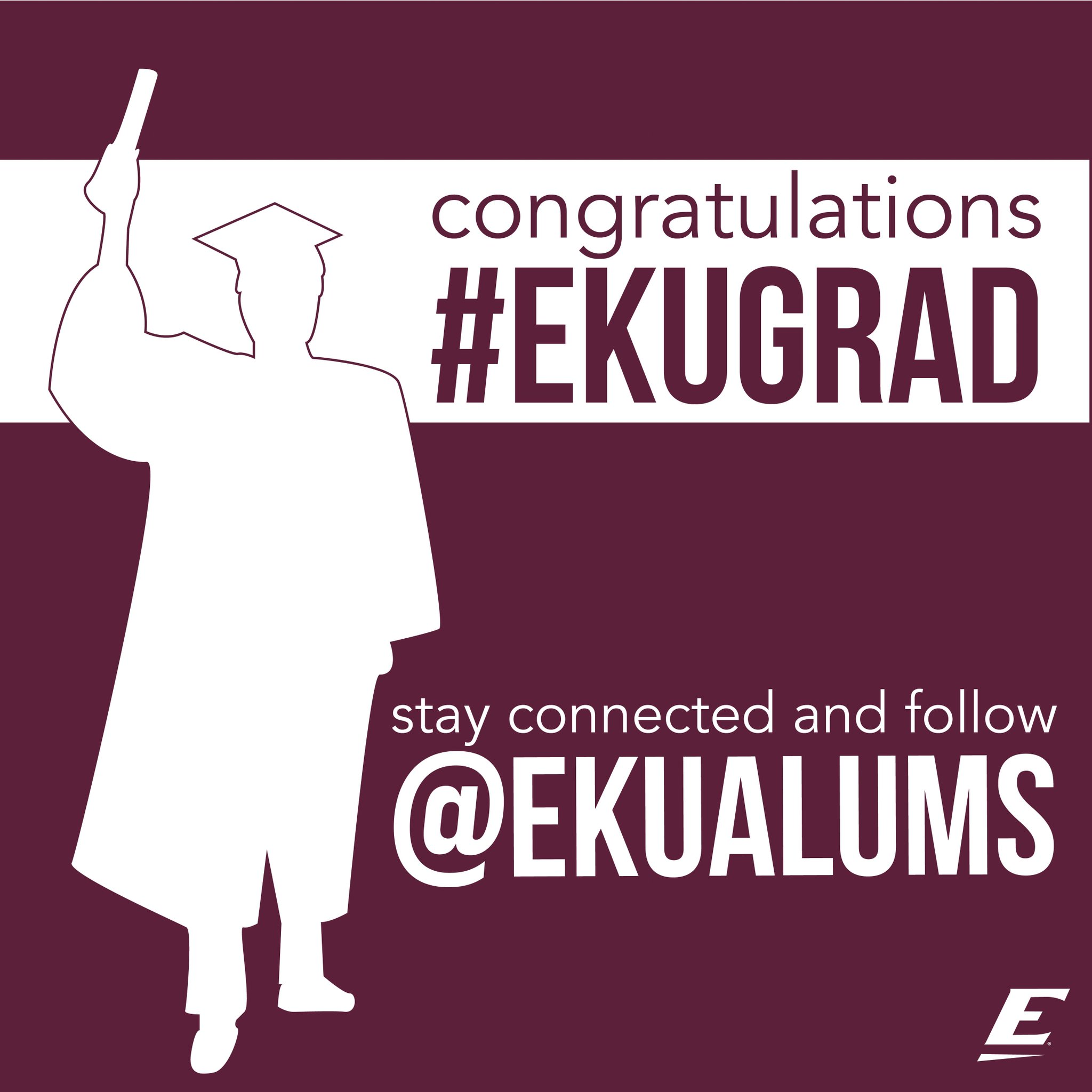 Congratulations #EKUGrad! Stay connected and follow @ekualums! https://t.co/9lF7UCHbT8