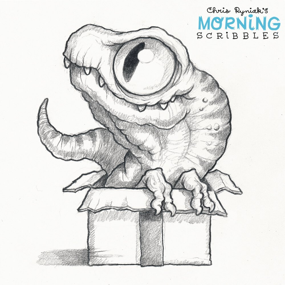 Scribble Monster Drawing : Chris ryniak chrisryniak twitter