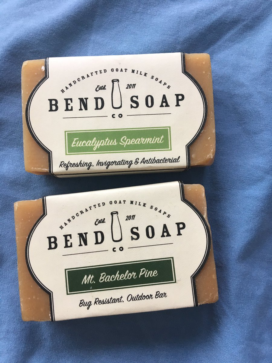 Stop what you're doing and buy this stuff. Obsessed 😍 @BendSoapCompany https://t.co/4pinN3b9dK