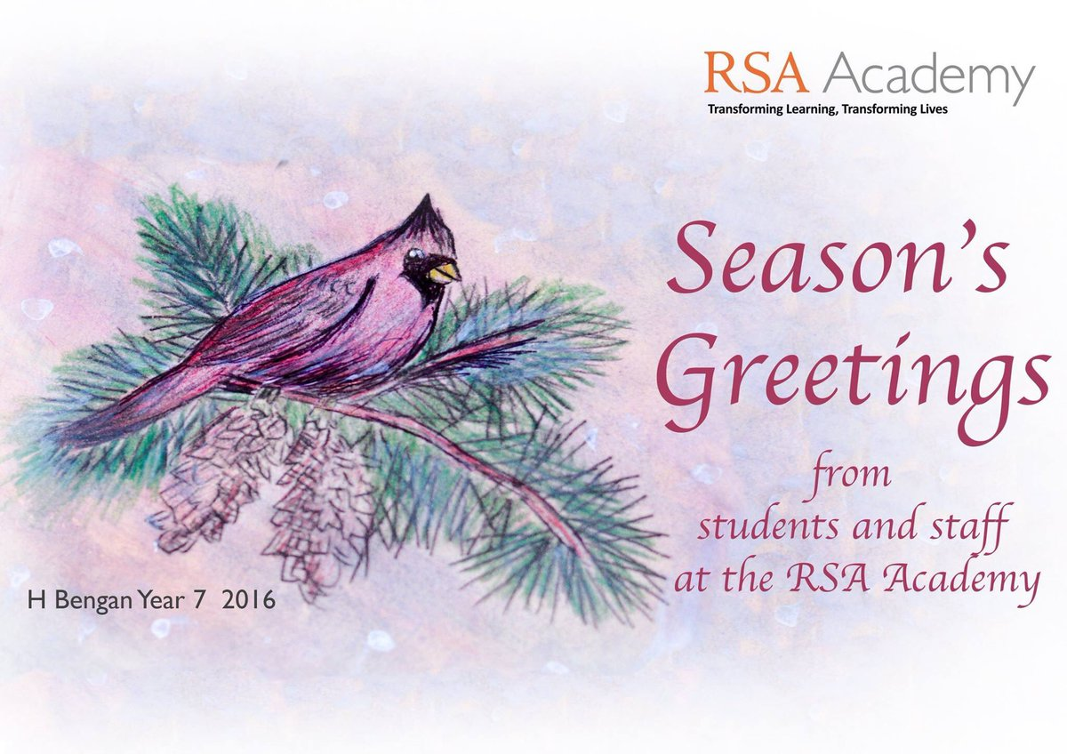 Rsa Academy On Twitter Warmest Greetings Of The Season And Every