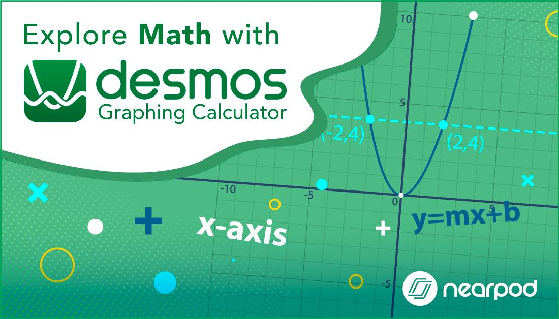 Watch engagement levels 📈 rise 📈in your math lessons by using @Desmos: bit.ly/2HxPgIn