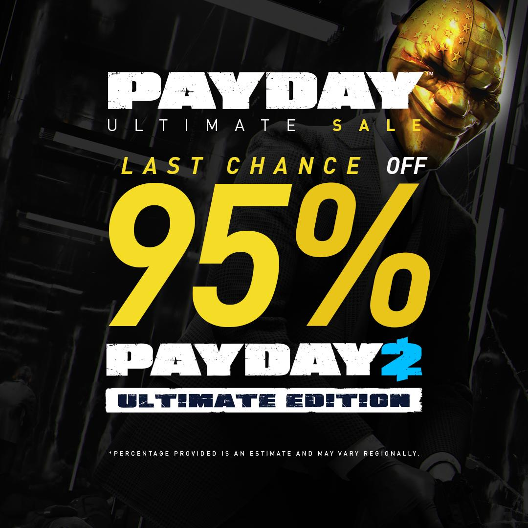 Last Chance! Ultimate Edition 95% off during the Summer Sale