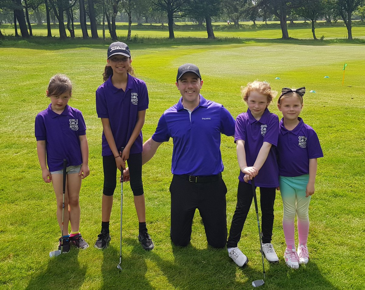 Just finished a brilliant 6 weeks with these budding young golf superstars. Girls Golf Rocks @MelthamGolfClub lots of fun and hopefully got them hooked on the game! #girlsgolfrocks #golffun  @GirlsGolfRocks1 @GolfRootsHQ @TGI_Golf    @EGWomensGolf