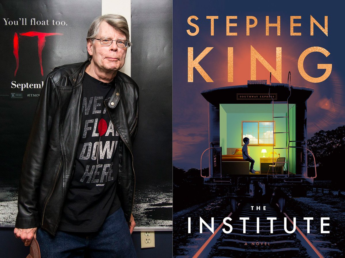 Just finished the latest @StephenKing novel, THE INSTITUTE.   Once again, the King comes through.  I read every day, but most books I read slowly, a chapter or two a night.  That doesn't work with Steve's work, never has.  The moment I start one of his, I'm doomed to finish...