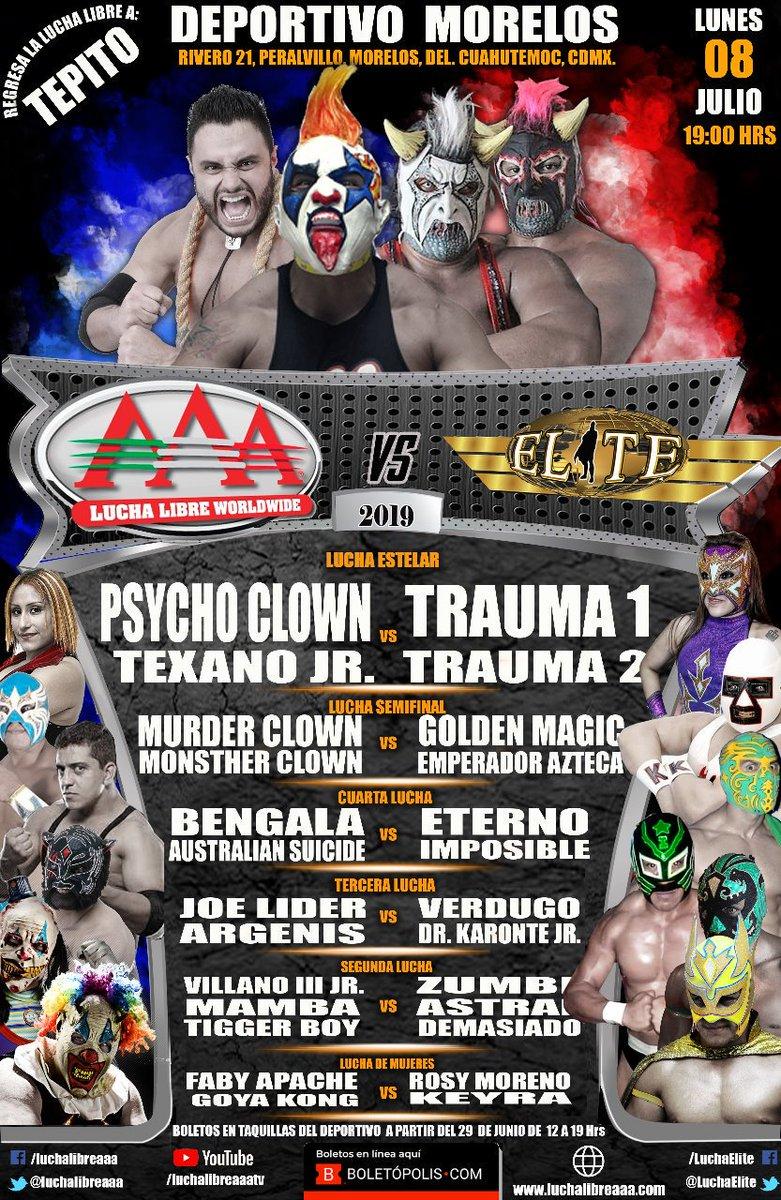 AAA / Elite: Continúa la alianza en Tepito 2