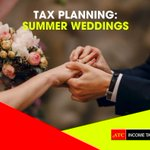 #TaxPlanning: Summer Weddings Its wedding season!! Getting married greatly affects your tax situation. Although taxes may be the last thing on your mind, you want to be prepared tax-wise when you file your taxes in 2020.  Check our latest Facebook post for more details.