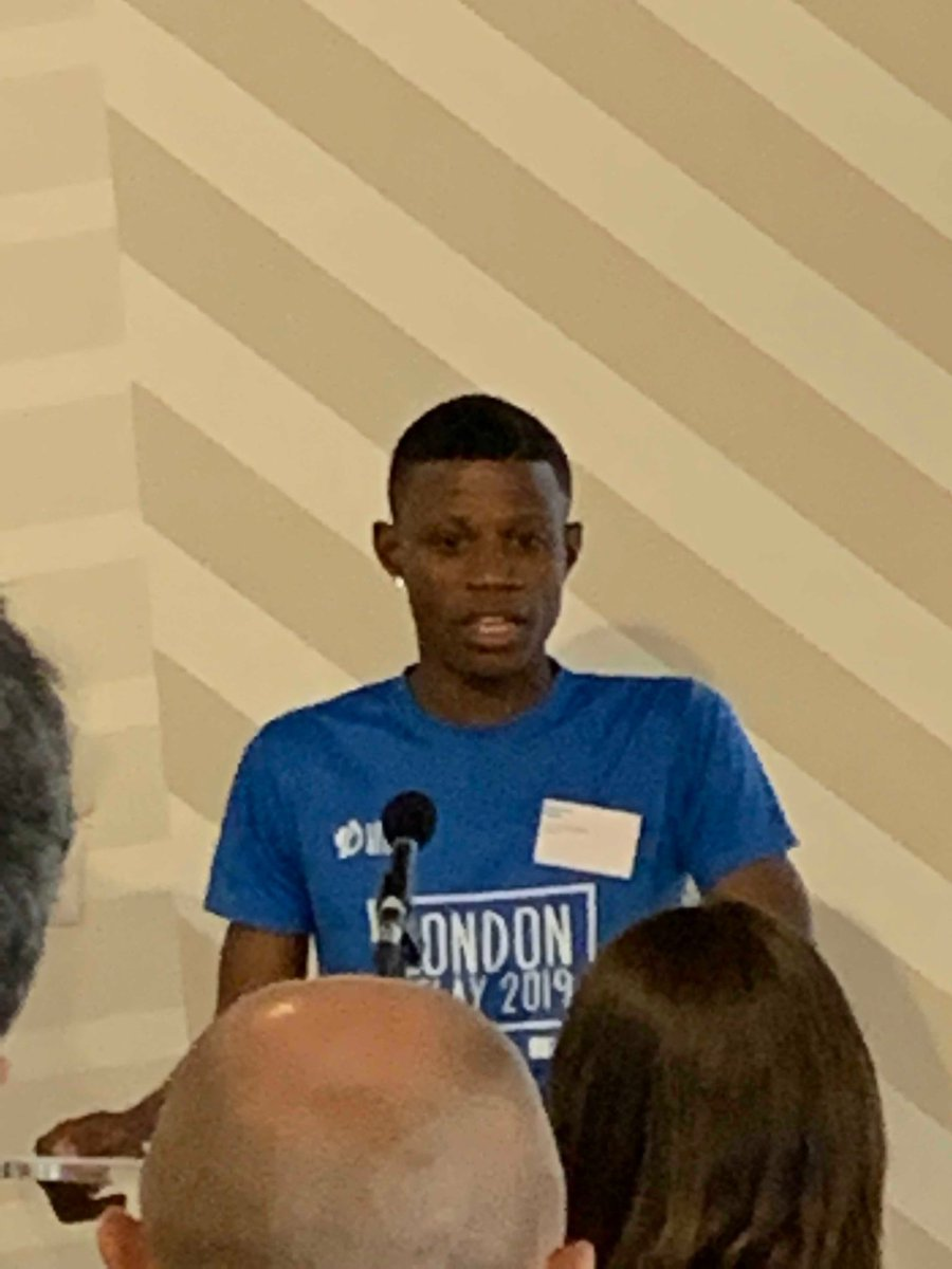 Great to hear Emmanuel's story. Very simple. Get skills. Get out of homelessness. Get a home. Build a new life. Great work from @fatmacys #Unltdthrive
