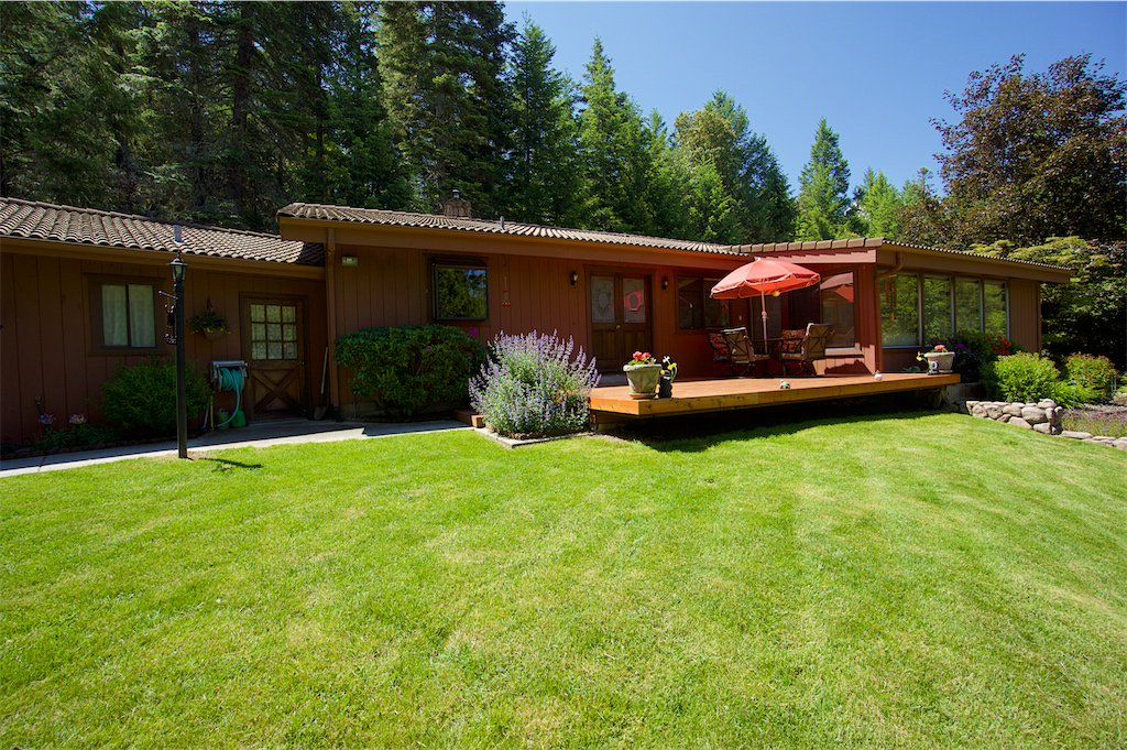 Ranch style home on 10 acres in a serene setting with two home potential.  Meadows, Thompson Creek frontage, barn surrounded by forest.  Watch our video tour here: https://t.co/GW4KZFKoDt