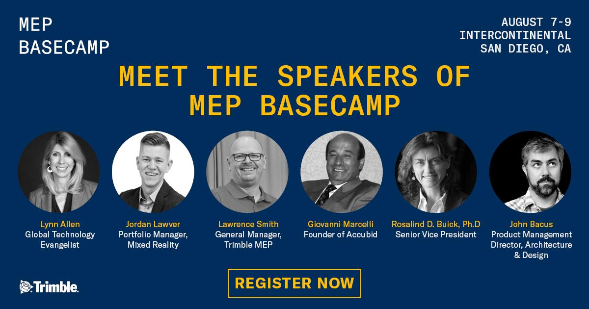 I am going to check this event out this year.  I have been to the Dimensions Conference before, but glad to see that @TrimbleMEP is doing something specific for the MEP trades.  If you plan on going, let me know.