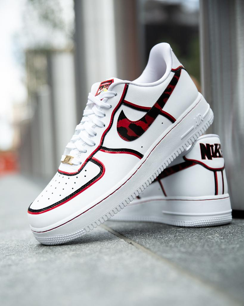Foot Locker On Twitter Inspired By The Worm Nike Air Force 1 Dennis Rodman Available Now Select Stores