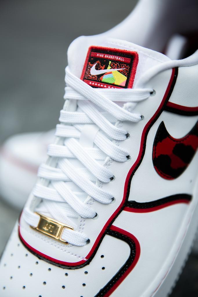 Worm. #Nike Air Force 1 'Dennis Rodman