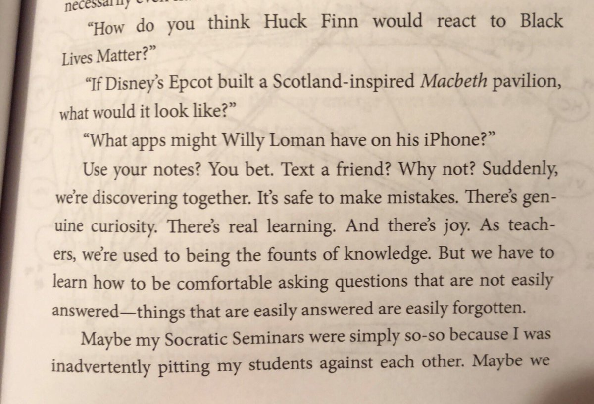 So many great things in this excerpt that I can't highlight or cover up with bitmojis! #EDrenaline
