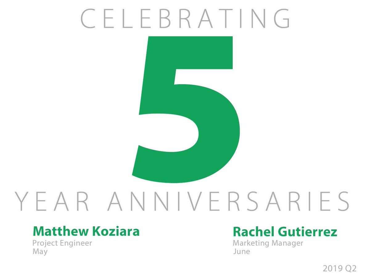 test Twitter Media - Congratulations to our employees with second quarter anniversaries! Thank you for your dedication to Ideal. https://t.co/J0Os4i5t0p