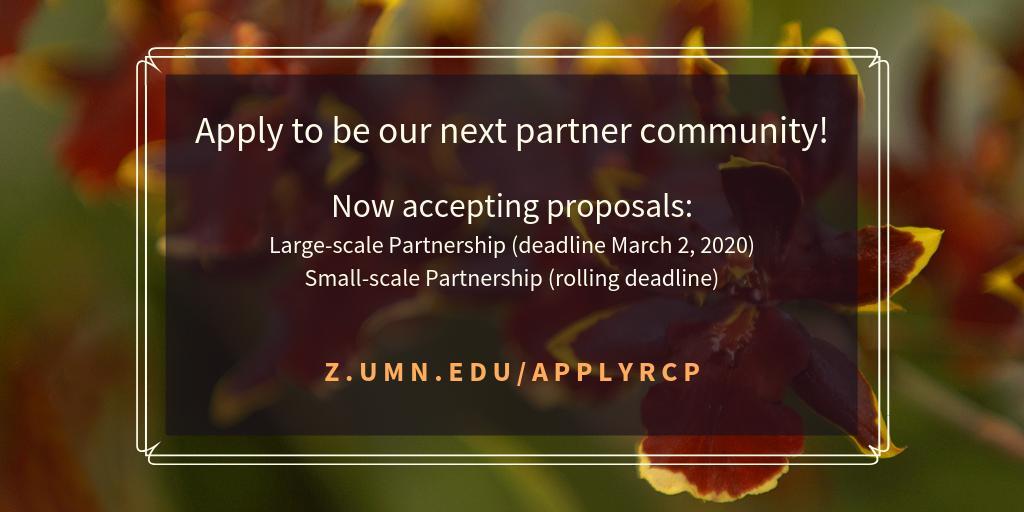 Umn Academic Calendar 2020 Resilient Communities Project UMN (@RCPumn) | Twitter