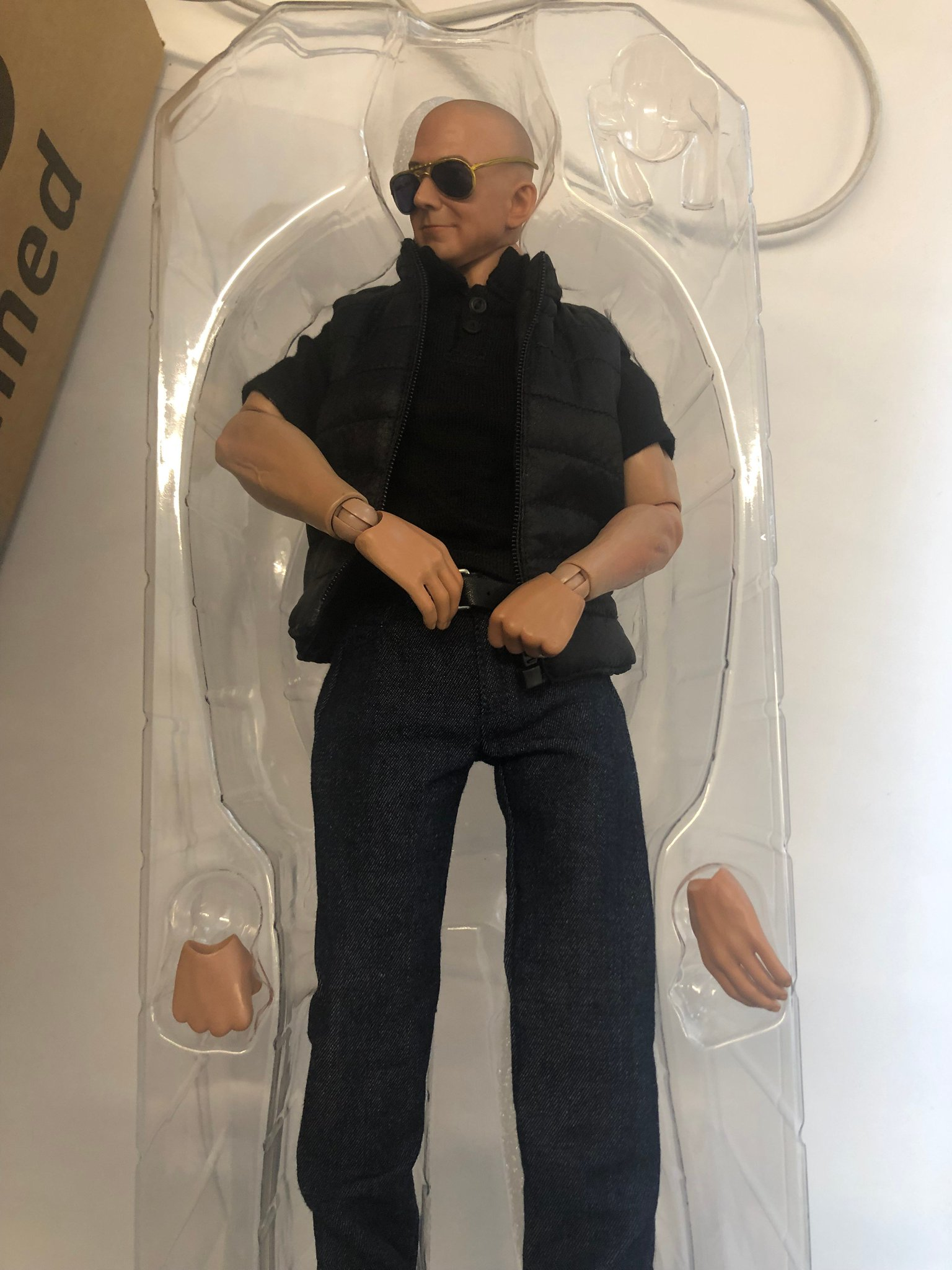 Received this Jeff Bezos action figure ...