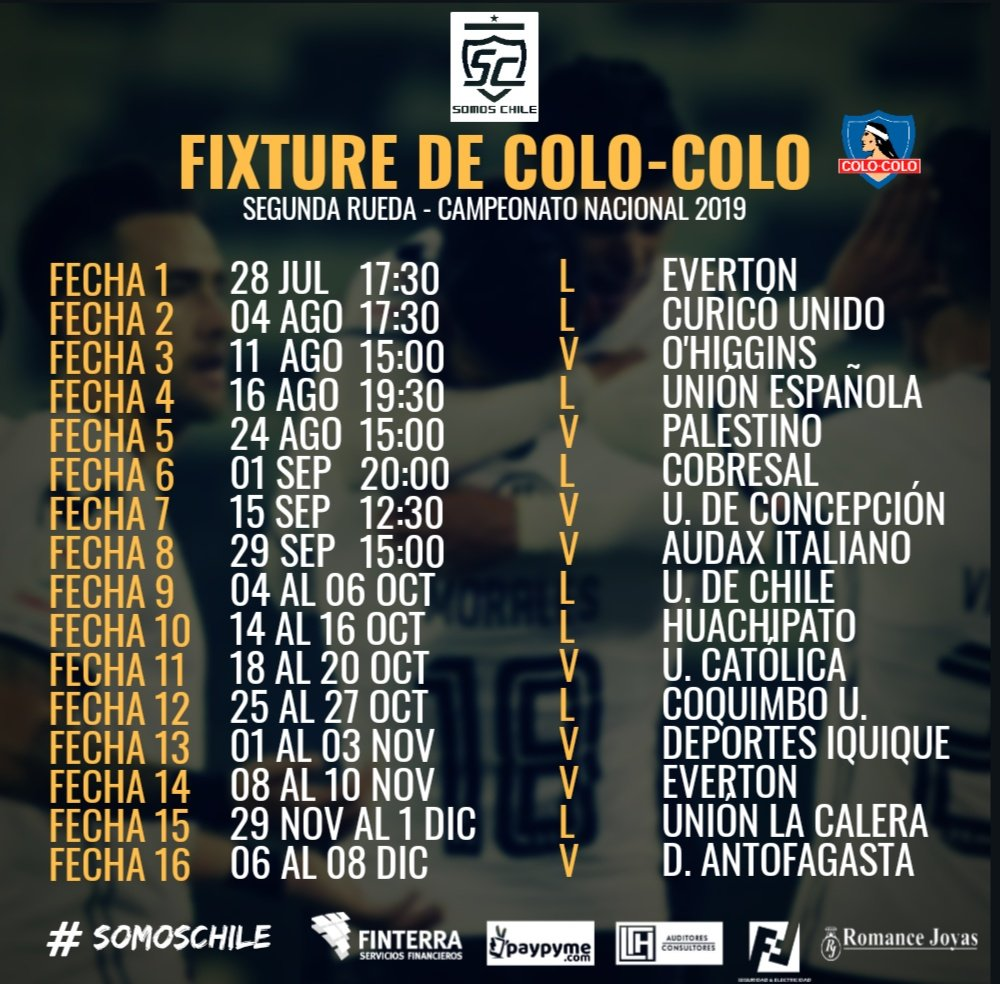 Colo-Colo in English on Twitter: