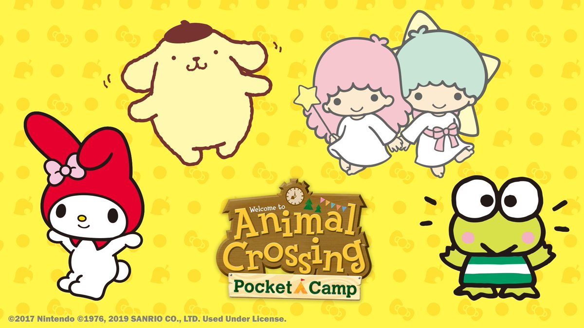 The items in #2 and #3 will feature the characters in this image. Maybe you recognize them, campers? #2 will commence later in July, and #3 will start at the beginning of August. Stay tuned to hear about all the kawaii clothing and furniture in your future!
