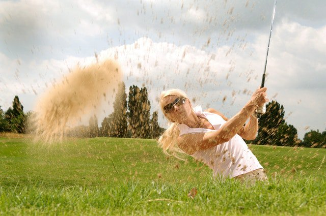 Mondays feel like a bunker shot - plain old annoying 🙄 How good are you at getting out of a bunker? • • • • • #winnerswearcleats #tractionisking #golf #golfing #golfer #bunkershots #golfhumor #golffun #golffails #Mondays #mondaymood