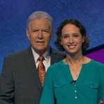 Image for the Tweet beginning: Tune in to @Jeopardy tonight