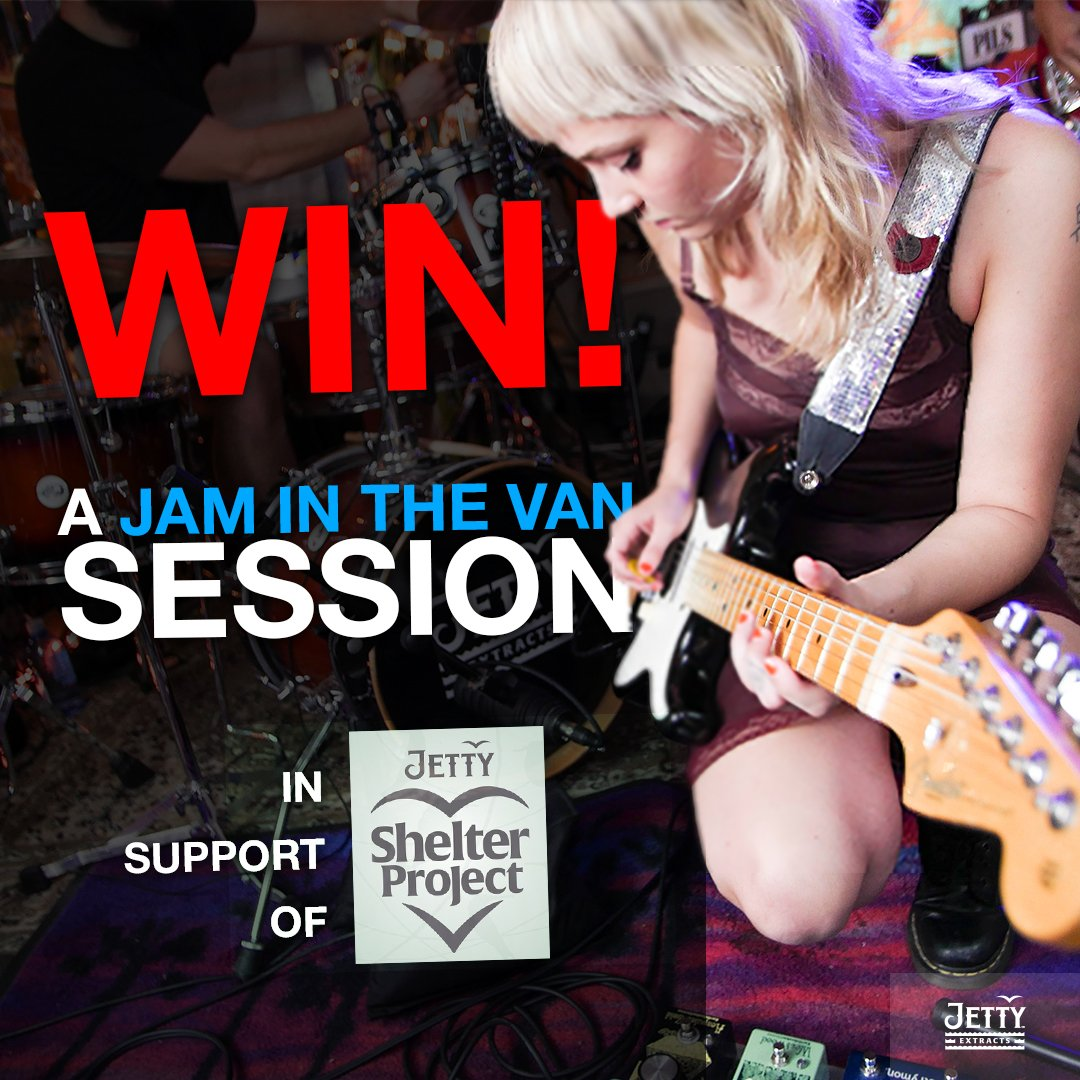 #WIN the chance to Jam in the Van with your band this fall in SoCal. #ReTweetToWin and follow the link to enter:  https:// jaminthevan.com/jam-in-the-van -jetty-shelter-project-band-competition/  … . #BattleOfTheBands #Contest #GiveAway @JettyExtracts #JettyExtracts #ShelterProject<br>http://pic.twitter.com/ABWqkpU5a4