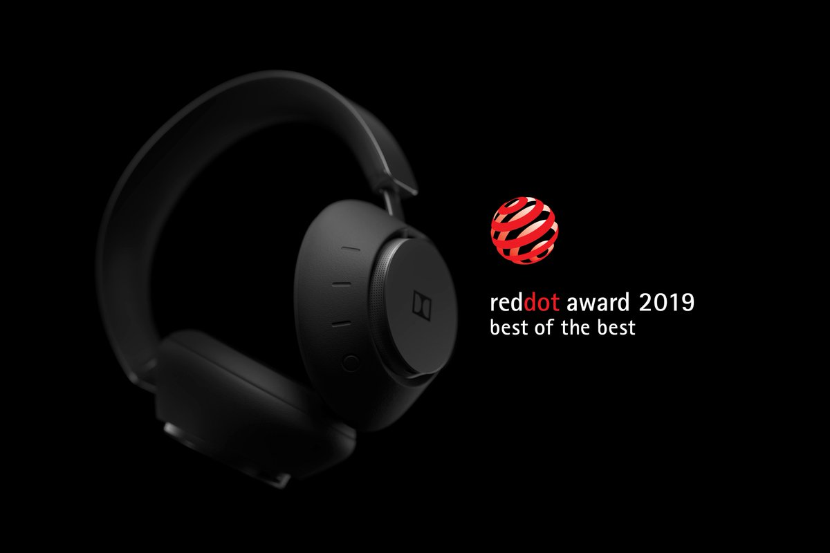 #DolbyDimension has been honored with a @reddot Award for its timeless design, as Best of the Best within the Audio category for headphones. Learn more 👉http://bit.ly/2Jws8cj