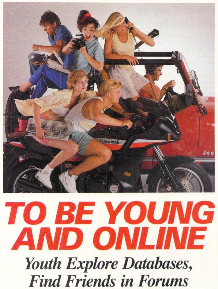 oh, to be young and online