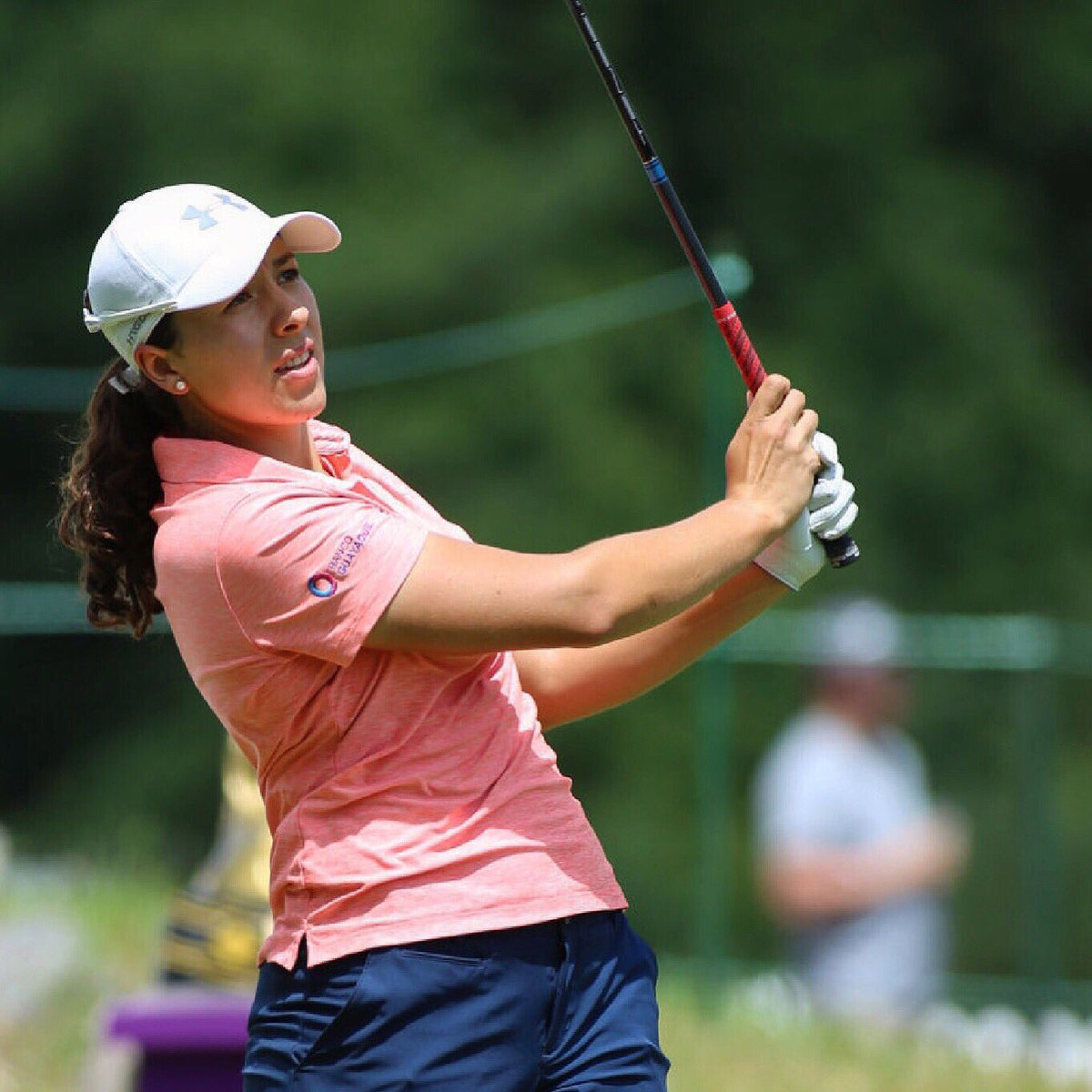 Thank you @thornberrycreeklpga for a great event! Even though I had a hard time on the greens this week, I had a lot of fun ⛳️ 🏌🏽♀️Looking forward to the @marathonlpga next week #vamosquevamos #VamosEcuador #sssalimos