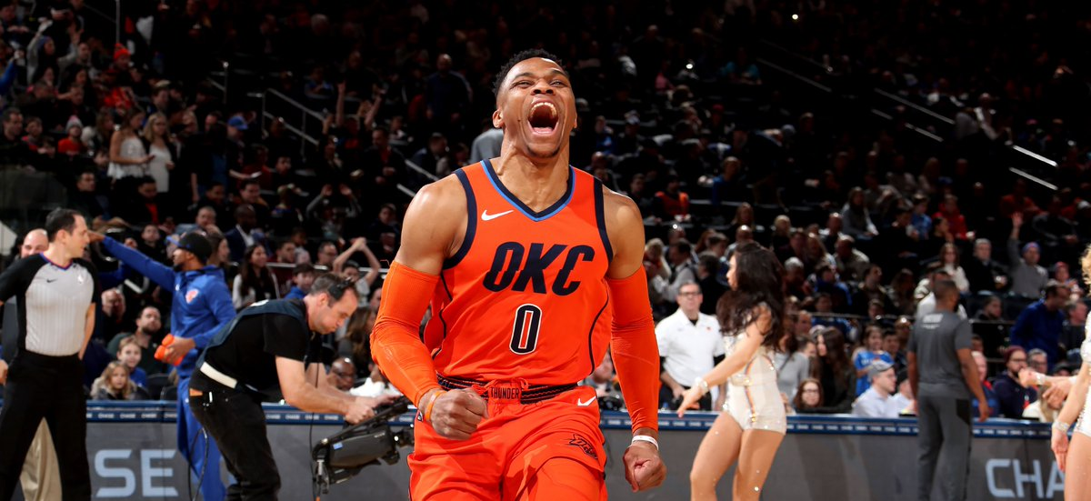 🚨 BREAKING EXCLUSIVE NEWS: New York #Knicks working RIGHT NOW on #RussellWestbrook trade with OKC Thunder for Kevin Knox and Frank Ntilikina 🚨  RJ Barrett is off limits in any trade.  THIS IS NOT A DRILL   http://onsmash.com/s/dq6cs
