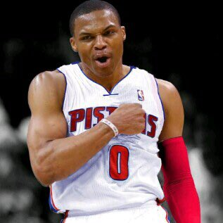 Image result for westbrook pistons