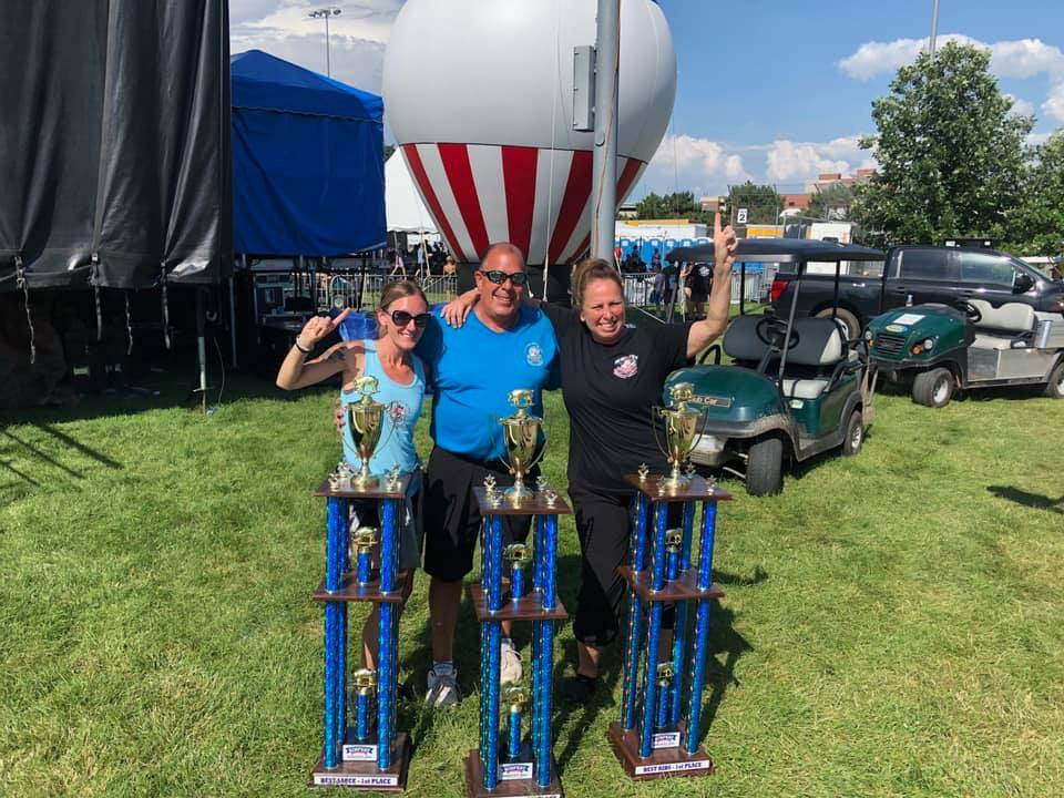 Beyond blessed!  First place sauce, first place kids choice, first place ribs! ❤️ Doing our Bub thing! #partywithapurpose #napervilleribfest https://t.co/KcwRKRpYhO