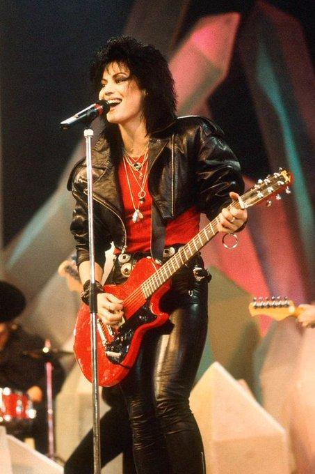 Happy birthday to rock Goddess Joan Jett!