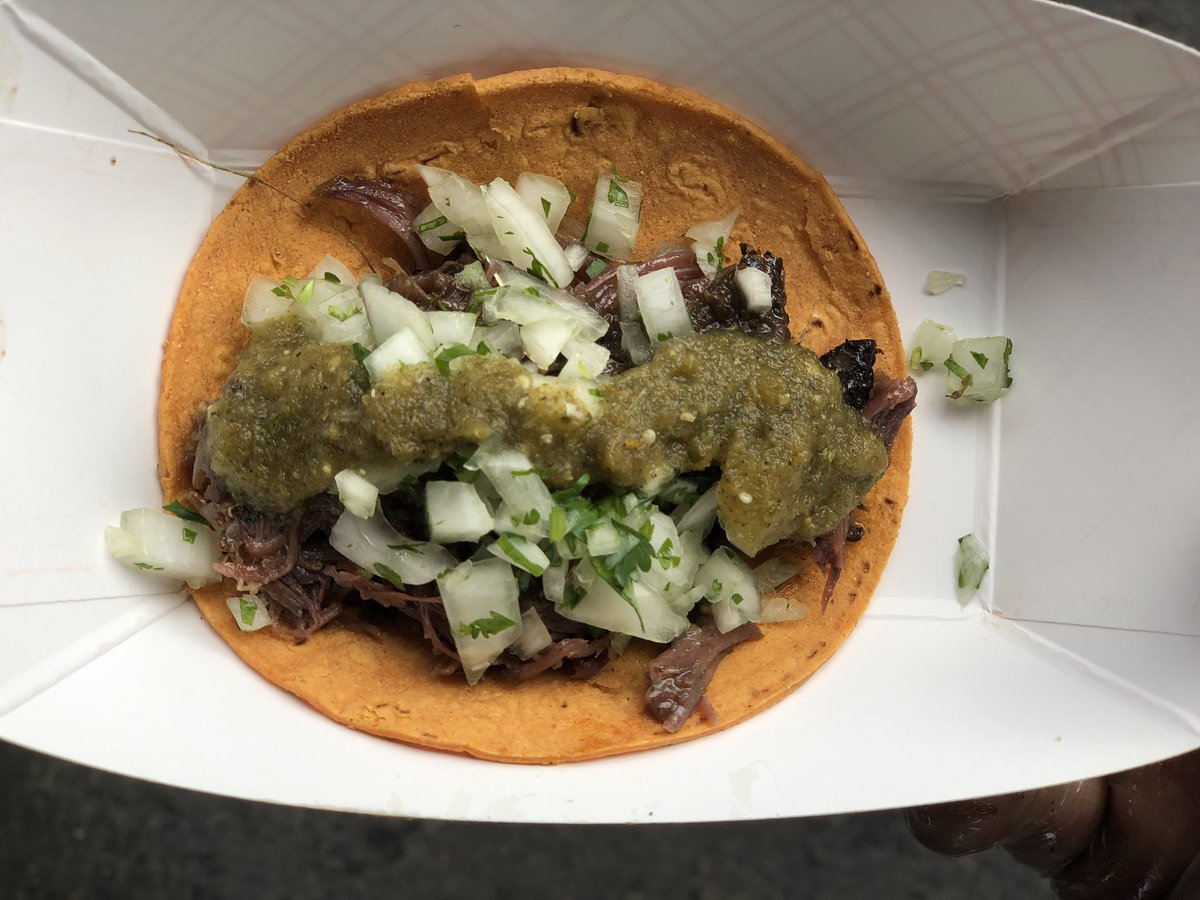 PSA: first Sunday of the month is tomorrow which means it's barbacoa Sunday. Get in line before it's all gone because it goes fast! We're already sold out today but doors open at 11 tomorrow
