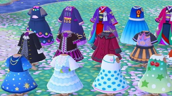 Animal Crossing New Horizons On Twitter Choose Your Dress