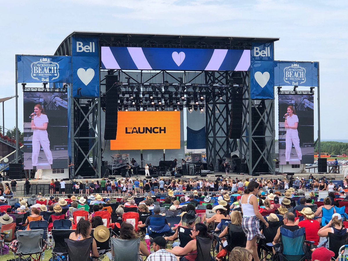 The winners of @TheLaunchCTV crushed it @CavendishFest! We're so excited for the rest of the weekend! #cbmf2019 💙🔥😍