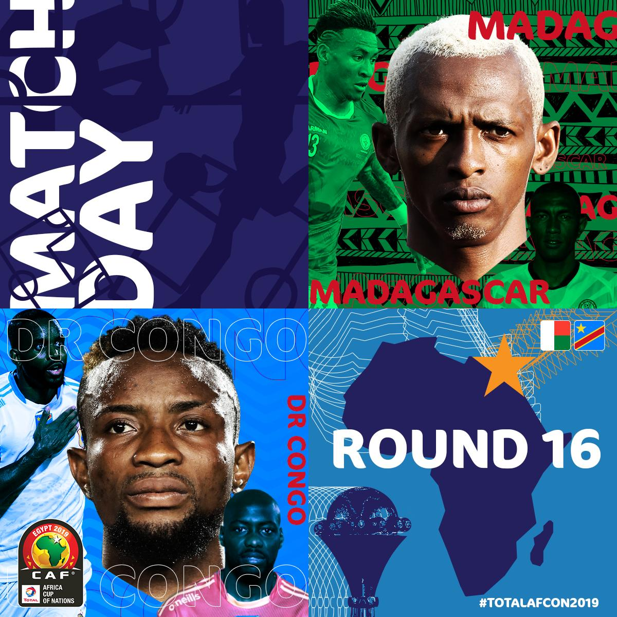 #ALEFABAREA are the first new team to qualify to the knockout stages of AFCON since Cape Verde in 2013   @fecofa_kinshasa have some history of their own to make too   #MADCOD #TotalAFCON2019<br>http://pic.twitter.com/IQPS0mpJ9y