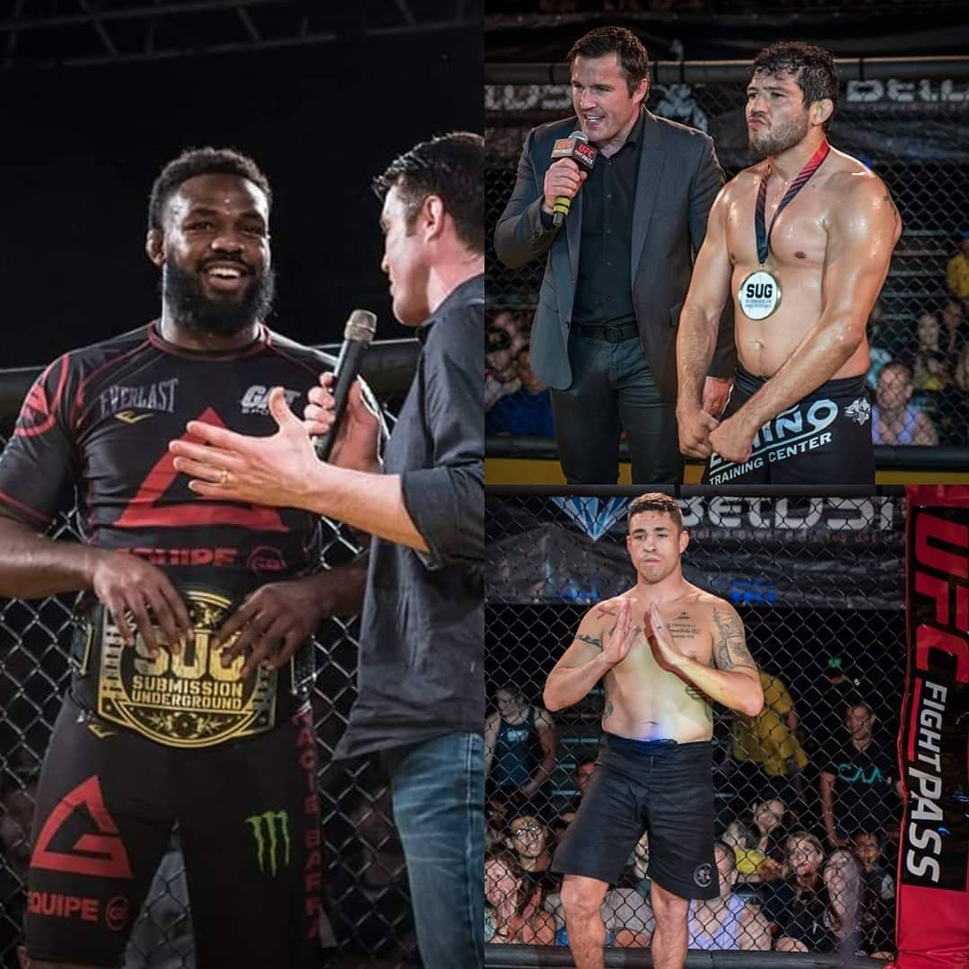 Best of luck to these Submission Underground alumni fighting tonight at #UFC239!   Jon Jones  Gilbert Melendez  Diego Sanchez   Join us tomorrow for SUG 9 live only on @ufcfightpass starting at 3pm PST!   #SUG #SUG9 #UFCFIGHTPASS #SUBMISSIONUNDERGROUND #RUMBLEVSJONES #CHAELSONNEN