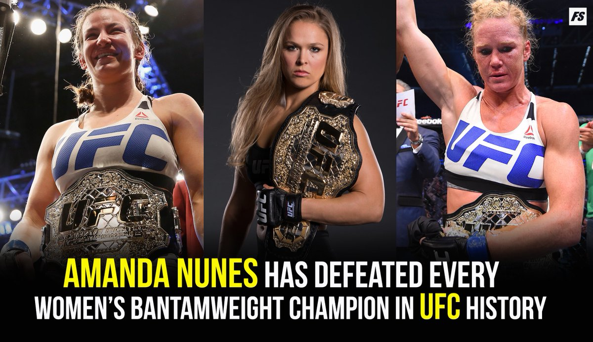 Did you doubt her? #UFC239 @Amanda_Leoa
